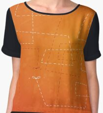 The Dance of the Midge on a Hot Summer Night Chiffon Top