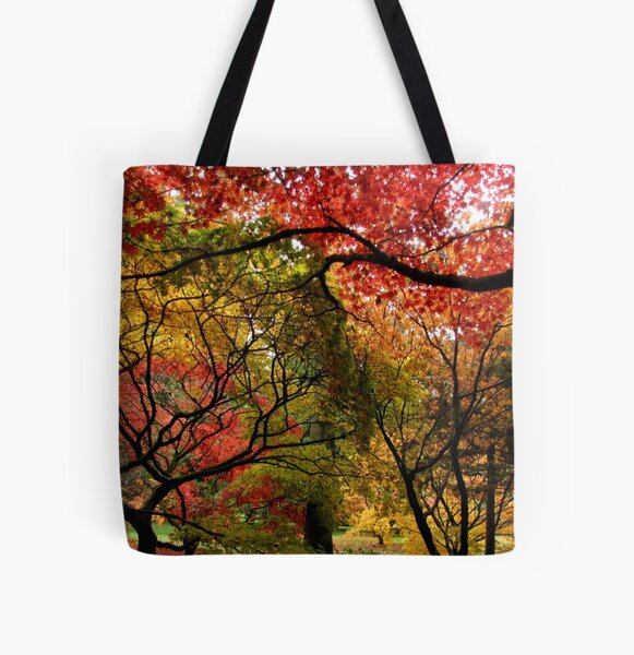 Autumnal Acers All Over Print Tote Bag