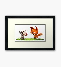 Sly Rabbit Framed Print