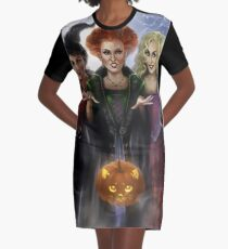 sanderson sisters Graphic T-Shirt Dress