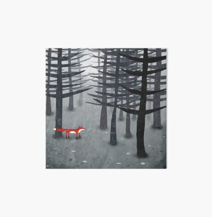 The Fox and the Forest Art Board