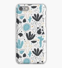 Nordic forest in winter iPhone Case/Skin