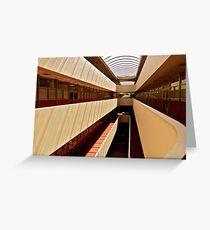 Marin County Civic Center, Frank Lloyd Wright Architect Greeting Card