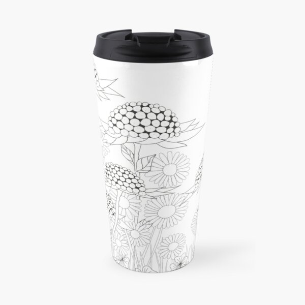 Wonder Flowers No. 4/2016 Travel Mug