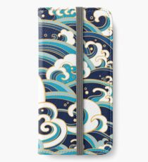 Japanese waves iPhone Wallet/Case/Skin