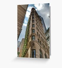 Boston Architecture Greeting Card