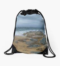 Plum Island Drawstring Bag