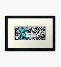 WATCH_DOGS 2 - DedSec (ATTACK OF THE ERROR) Framed Print