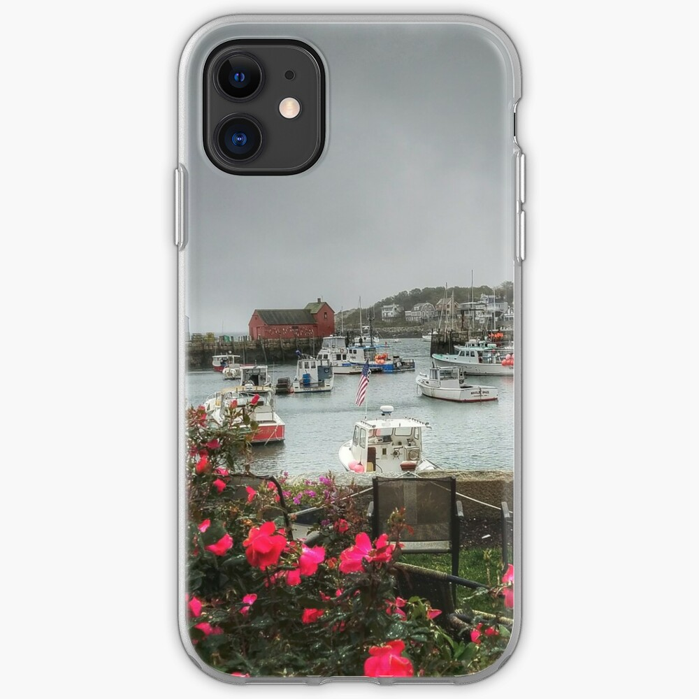 Rockport and Roses iPhone Case & Cover