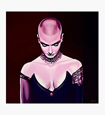 Sinead O'Connor Painting Photographic Print