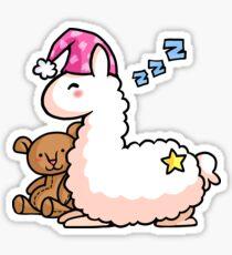 Pajama Llama  Sticker