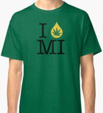 I Dab MI (Michigan) Weed Classic T-Shirt