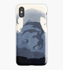 Skyrim II (No Text) iPhone Case/Skin