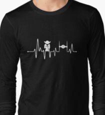 Yoda Heartbeat - Pulse Long Sleeve T-Shirt