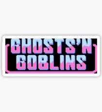 GHOSTS'N GOBLINS [version C] Sticker