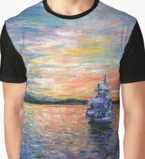 Sunrise in Oslo Graphic T-Shirt
