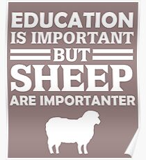 Sheep Is Importanter  Poster