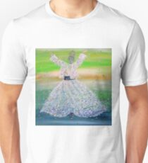 SUFI WHIRLING  - FEBRUARY 9,2015 Unisex T-Shirt