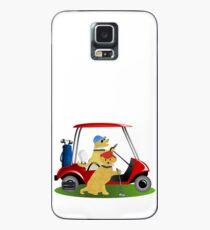 Preppy Dogs Golf Case/Skin for Samsung Galaxy