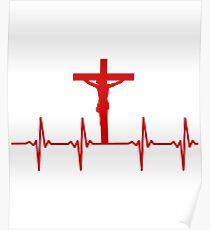 Jesus Heartbeat  Poster