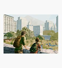 The Last of Us - Can't Deny the View Photographic Print