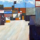 San Clemente Alley (abstract) by Michael Ward