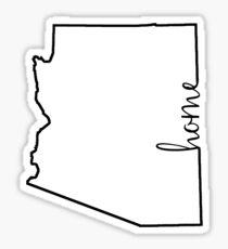 Arizona Home Outline Sticker