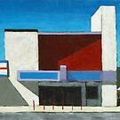 Texas Theatre (Abstract) by Michael Ward