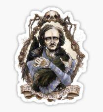 Edgar Allan Poe & Friends Sticker