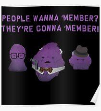 Leute wollen 'Mitglied? Poster