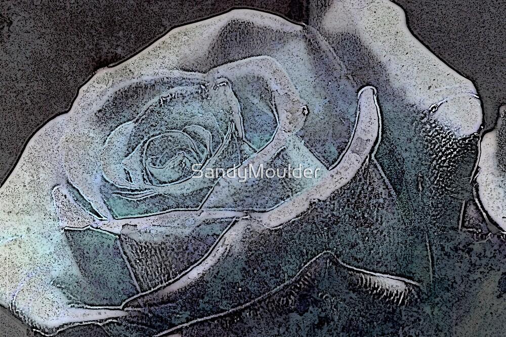 Blue Rose by SandyMoulder