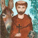 Saint Francis by Angela Micheli Otwell
