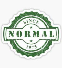 Born 1975 Birthday Gift Sticker