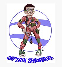 Captain Shawarma Photographic Print