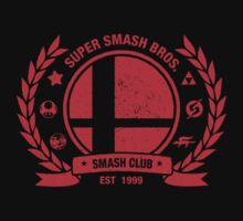 Smash Club (Red) | Unisex T-Shirt