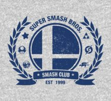 Smash Club (Blue) | Unisex T-Shirt