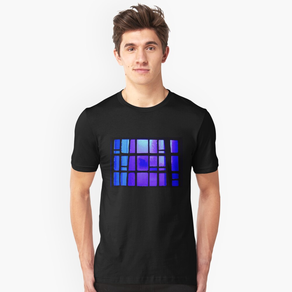 Stained Glass  Unisex T-Shirt Front