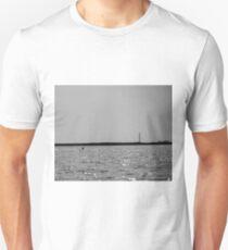 Lighthouse ashore Folly Creek Unisex T-Shirt