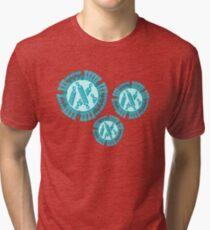Influenza virus Tri-blend T-Shirt