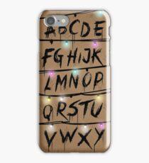 Stranger Things Coloured iPhone Case/Skin