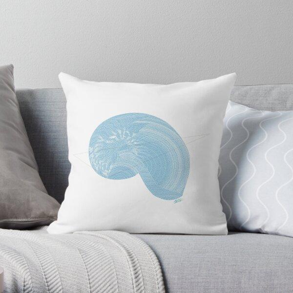"""Gastropoda Crush"" Throw Pillow"