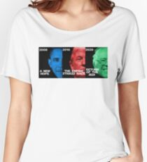 Star Wars Trilogy - Obama, Trump, Bernie  Women's Relaxed Fit T-Shirt