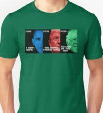 Star Wars Trilogy - Obama, Trump, Bernie  Unisex T-Shirt