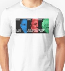 Star Wars Trilogy - Obama, Trump, Bernie  Unisex T-Shirt