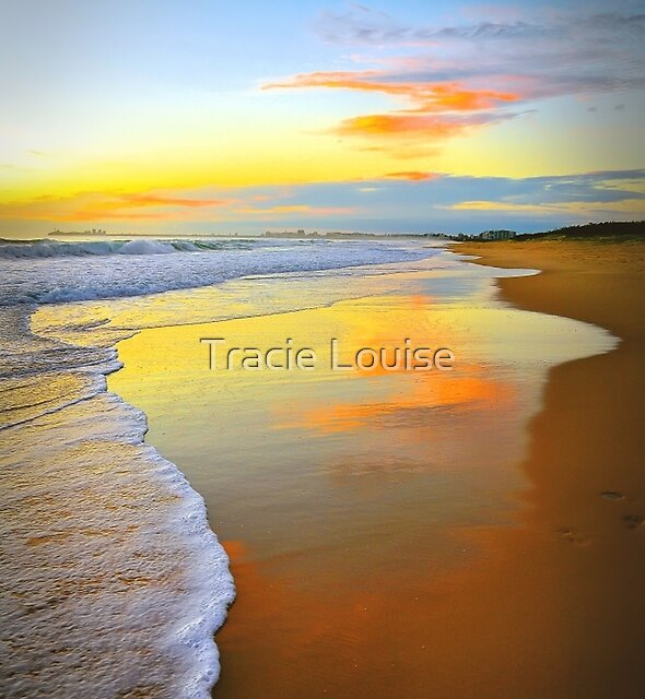 Beach Sunrise by Tracie Louise