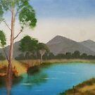 Tree by River by JayJay70