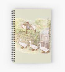 Beatrix Potter, Ducks, Tom Kitten Spiral Notebook