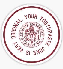 colgate - toothpaste Sticker