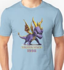 Spyro The Dragon Toastin' Unisex T-Shirt