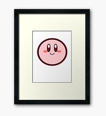 Kirby Tee Framed Print